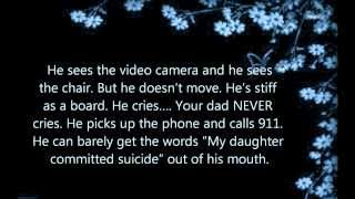 watch If you know anyone with a suicide problem even yourself.