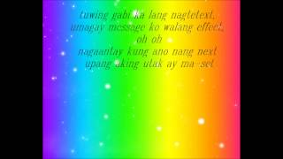 Repeat youtube video Paligoy ligoy (lyrics) - Nadine Lustre (DNP The Movie OST)