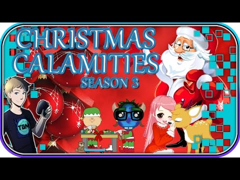 Christmas Calamities - Season 3 Episode 2: GirlsGames123.com Christmas Games
