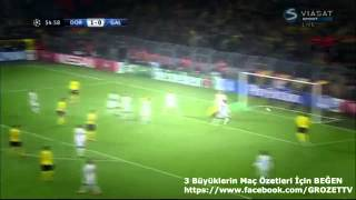Galatasaray vs Borussia Dortmund 4 - 1 Geniş Özet ve Goller 04 Kasım 2014 HD