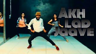 Akh lad jaave  loveratri song badshah , jubin nautiyal dance choreography
