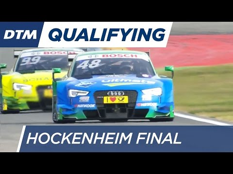 DTM Hockenheim Final 2016 - Qualifying (Race 1) - Re-Live (English)