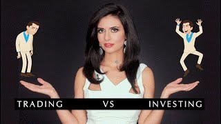Investing vs. Trading: How are they different? | Invest Diva