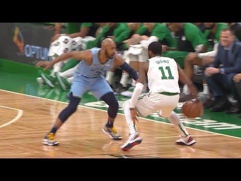 Kyrie Irving DANCES on Jevon Carter - Grizzlies vs Celtics   January 18, 2019   2018-19 NBA Season