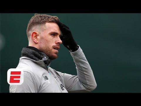 Will Jordan Henderson Start Vs. Atletico Madrid On Wednesday?   UEFA Champions League