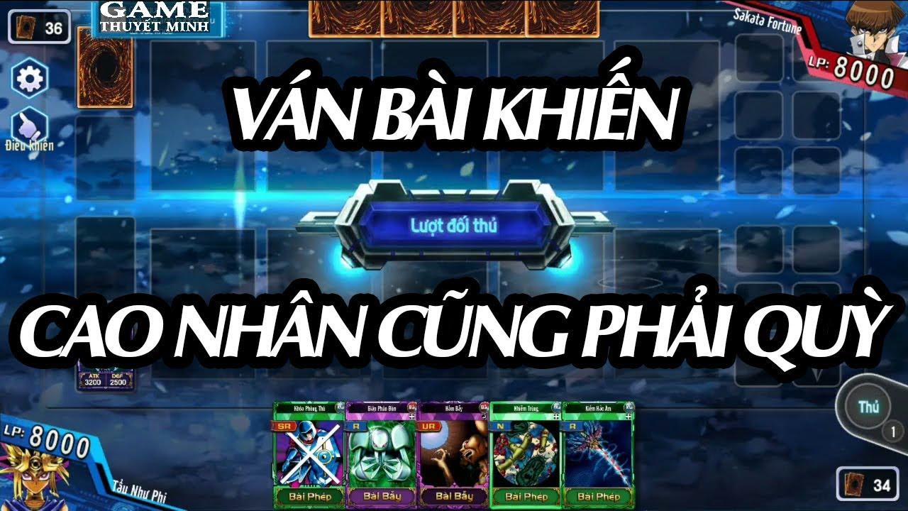 GTM Play ► Yugi H5 ۩۩ CAO NHÂN CŨNG PHẢI QUỲ [VUA TRÒ CHƠI – BÀI MA THUẬT – YU-GI-OH]