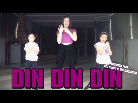 DIN DIN DIN - LUDMILLA FEAT MC PUPIO E MC DOGUINHA coreografia | Ni Guedes