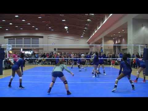 Side Out Sports 18s vs Metro 18 Capital Hill Volleyball Classic 2018