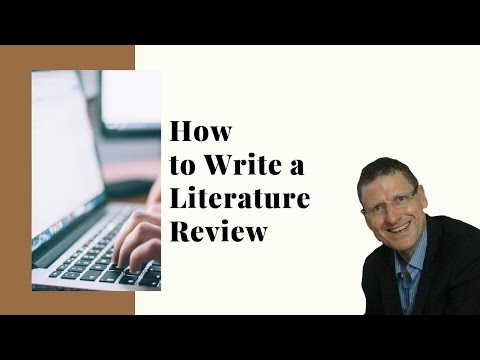 How to Write a Literature Review?