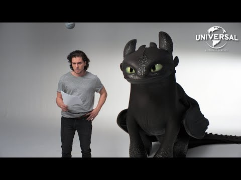 HOW TO TRAIN YOUR DRAGON: THE HIDDEN WORLD   Kit Harington and Toothless' Lost Audition Tapes