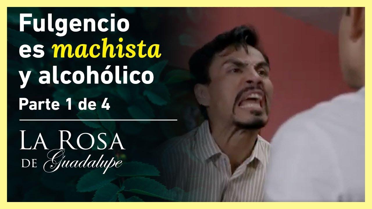 La Rosa de Guadalupe 1/4: Fulgencio es un hombre violento | La mujer que construye milagros