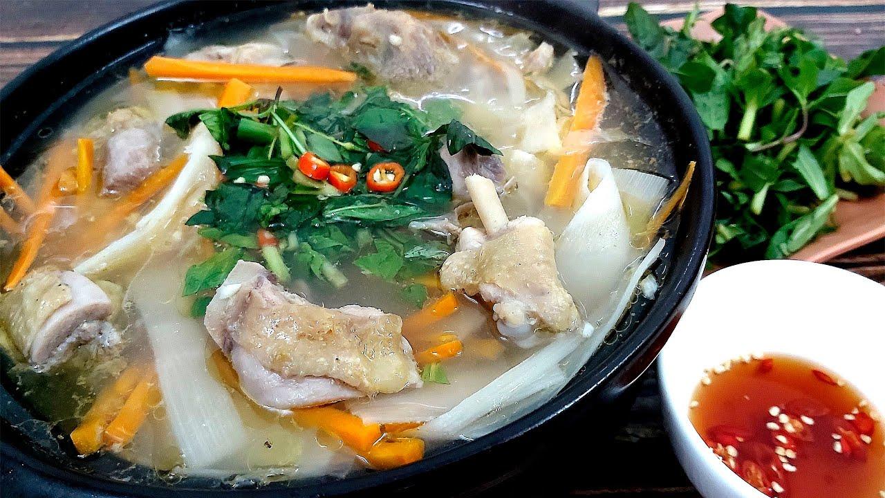 Cách làm món GÀ NẤU MĂNG CHUA cực ngon cho cả gia đình của Hồng Thanh Food