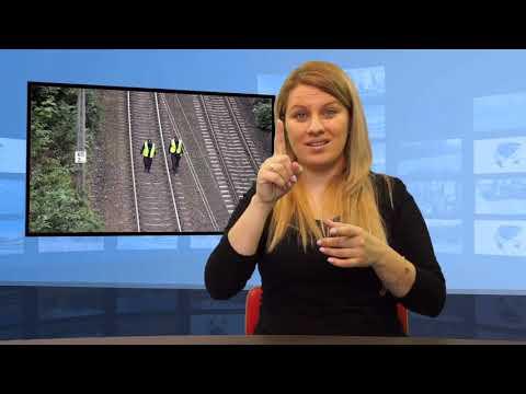 • 60-latek zginął potrącony przez pociąg (Tłumaczenie na Język Migowy - PJM)
