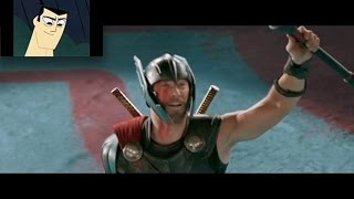 Cartoon Charecters react to THOR RAGNAROK Trailer 2017