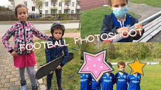 Football Photo Shoot He feels like a Model LIFE IN GERMANY