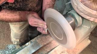 Making A Wooden Plate (uncut Version)