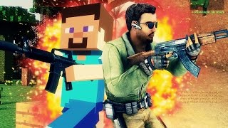 QUAND MINECRAFT RENCONTRE COUNTER-STRIKE !