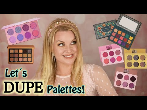 Let´s DUPE Out NEW Eyeshadow Palettes!