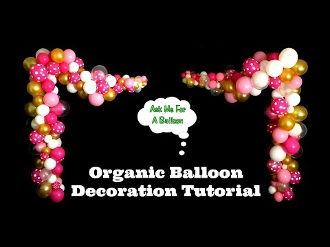 Organic Balloon Decoration Tutorial