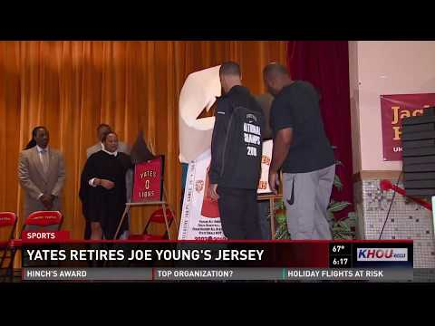 Yates HS retires Joe Young's jersey