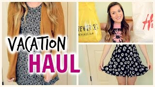 Try On Vacation Haul 2014 | Forever21 + H&M Thumbnail