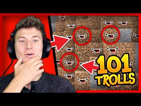 101 CAMO TROLLS vs 3 Noobs HIDE AND SEEK MURDER MYSTERY!
