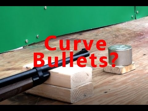 Curve Bullets with a Magnet