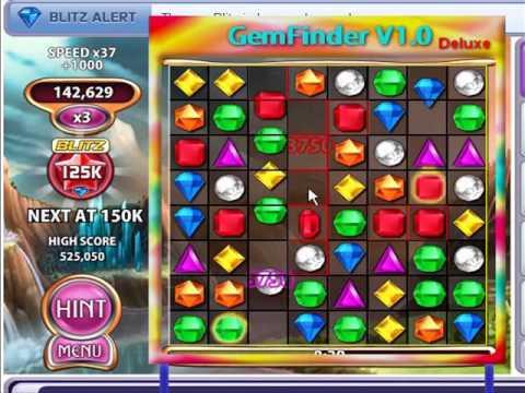GemFinder v1.0 Dx (cheat games like Bejeweled Blitz on facebook)