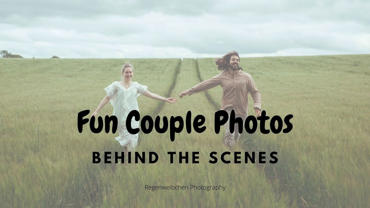 Fun Couple Photo shoot - behind the scenes