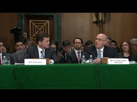 Senate panel looks at Bitcoin, regulating block chain virtual currency