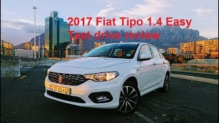 2017 Fiat Tipo 1.4 Easy test drive review