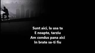 MAXIM-NOAPTE FARA TINE(LYRICS)
