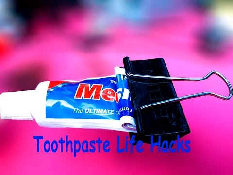 Top 3 Awesome Toothpaste Life Hacks-Everyone Should Know- Save Your Money