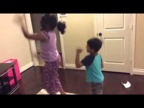 Super machi dance by Siri & happy