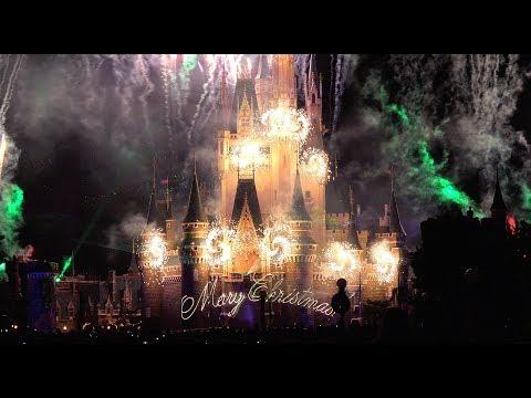 ºoº ディズニー・ギフト・オブ・クリスマス ディズニーランド シンデレラ城新プロジェクションマッピング TDL Gift Of Christmas projection mapping