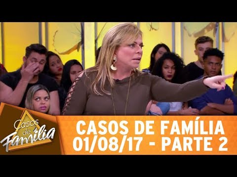 """Casos de Família (01/08/17) - """"Foi pecado casar com meu parente? Então, relaxa!"""" - Parte 2"""