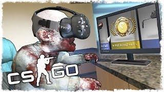 CS:GO В VR!!! НОВЫЙ НОЖ В VR!!!