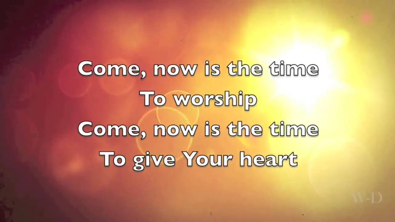 Come Now Is The Time To Worship - All Midi A-Z