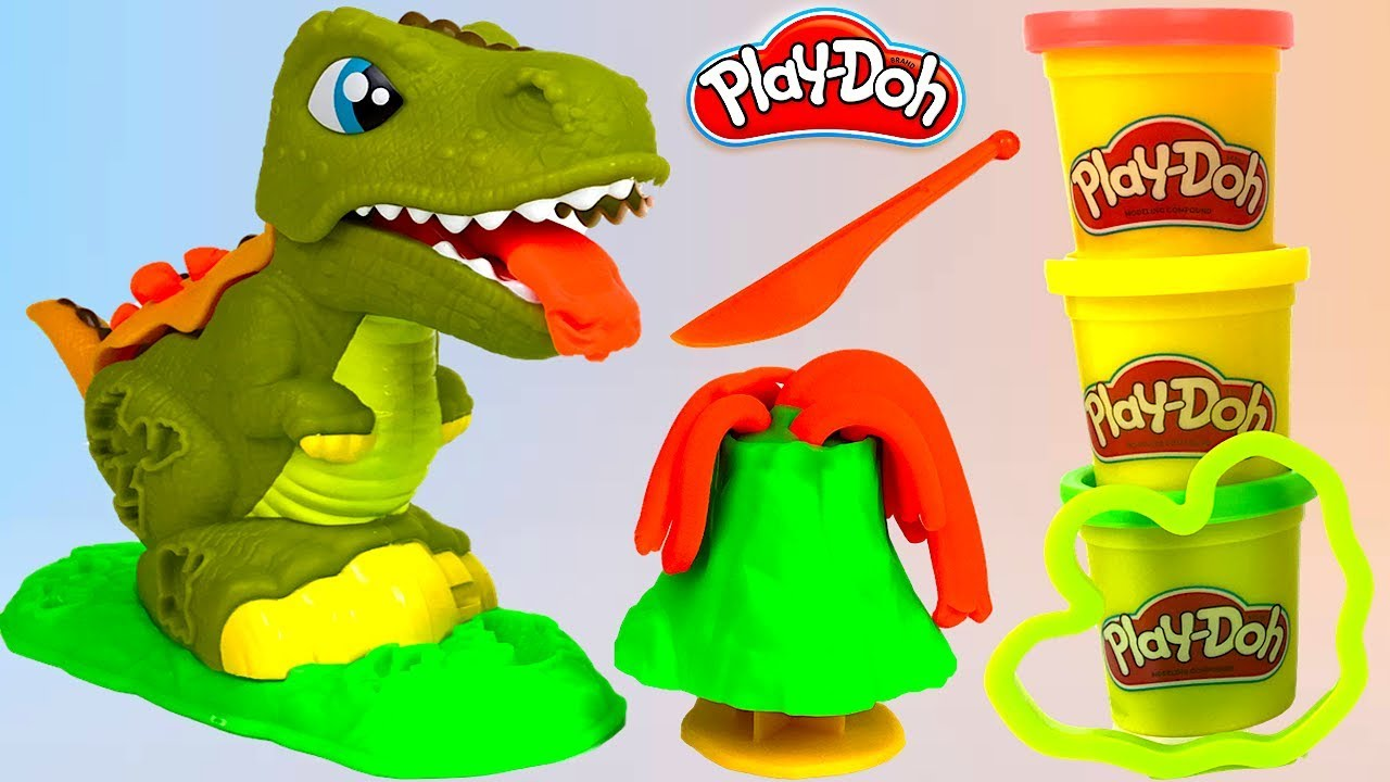 Play-Doh /'Rex The Chomper/' Playset New