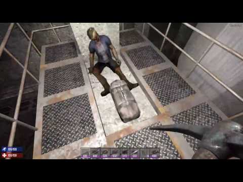 Missile Silo & Looting - 7 Days to Die