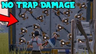NEVER Take Damage From Traps In Fortnite Using This Simple Glitch.. (Disable Traps Season 10)