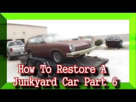 How To Restore A JUNKYARD Car - Part 6 - THE MISSING LINK