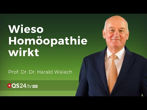 Homöopathie aus Sicht eines Psychologen | Prof. Dr. Dr. Harald Walach | QS24 Gesundheitsfernsehen