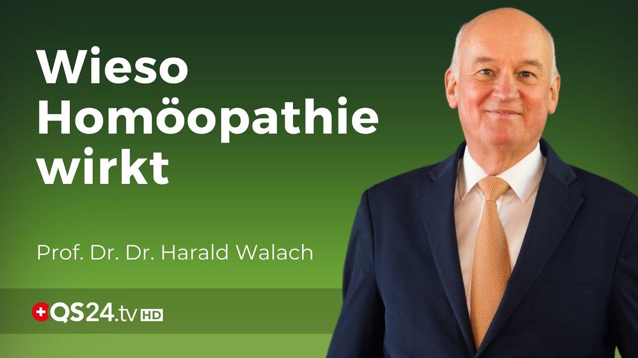 Homöopathie aus Sicht eines Psychologen   Prof. Dr. Dr. Harald Walach   QS24 Gesundheitsfernsehen