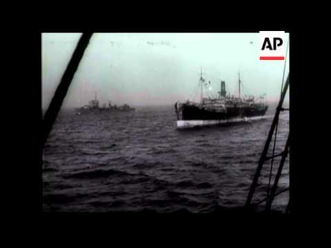Aboard A Merchant Ship In Convoy