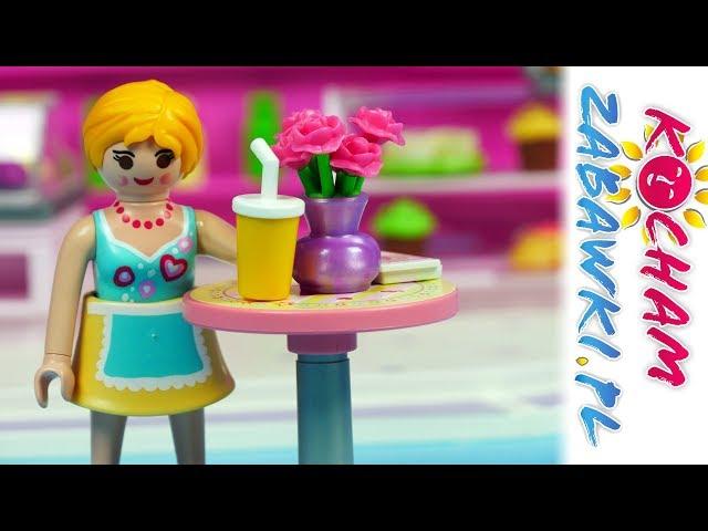 Playmobil City Life • Pierwszy dzień w kawiarence Cupcake • Bajki po polsku
