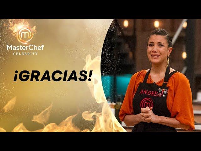 Así fue la despedida de Andrea Rincón de Masterchef