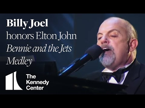 Bennie and the Jets Medley Elton John Tribute  Billy Joel  2004 Kennedy Center Honors