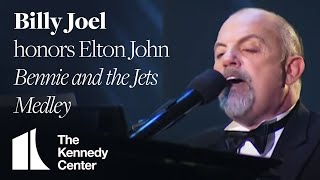Bennie and the Jets Medley (Elton John Tribute) - Billy Joel - 2004 Kennedy Center Honors