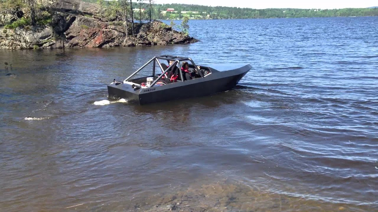 Sea-Tek Jetsprint Boat - YouTube